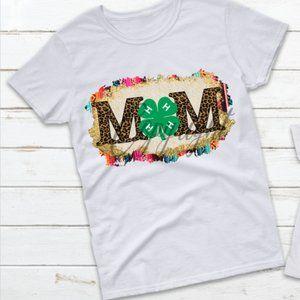 4h mom shirt